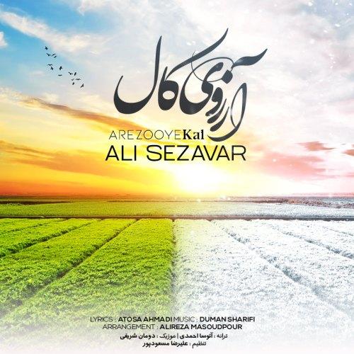 دانلود موزیک جدید علی سزاوار آرزوی کال