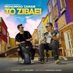 دانلود موزیک محمد زمانی به نام تو زیبایی